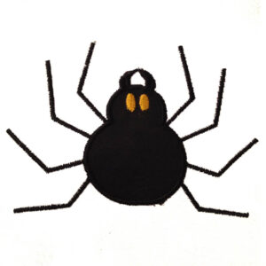 spider embroidery and applique designs