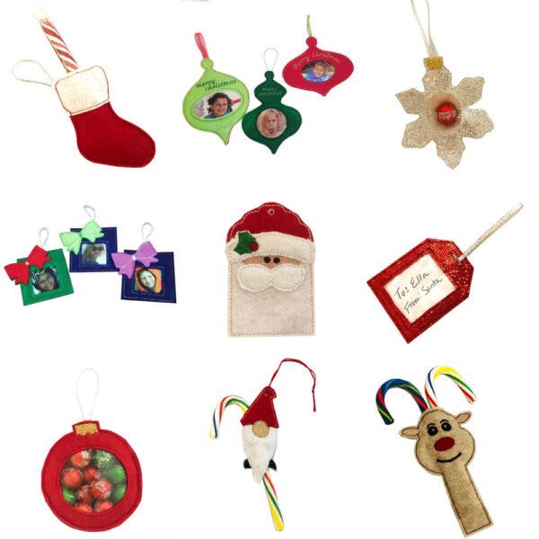 in the hoop Christmas designs