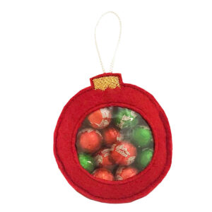 in the hoop ornament for candy