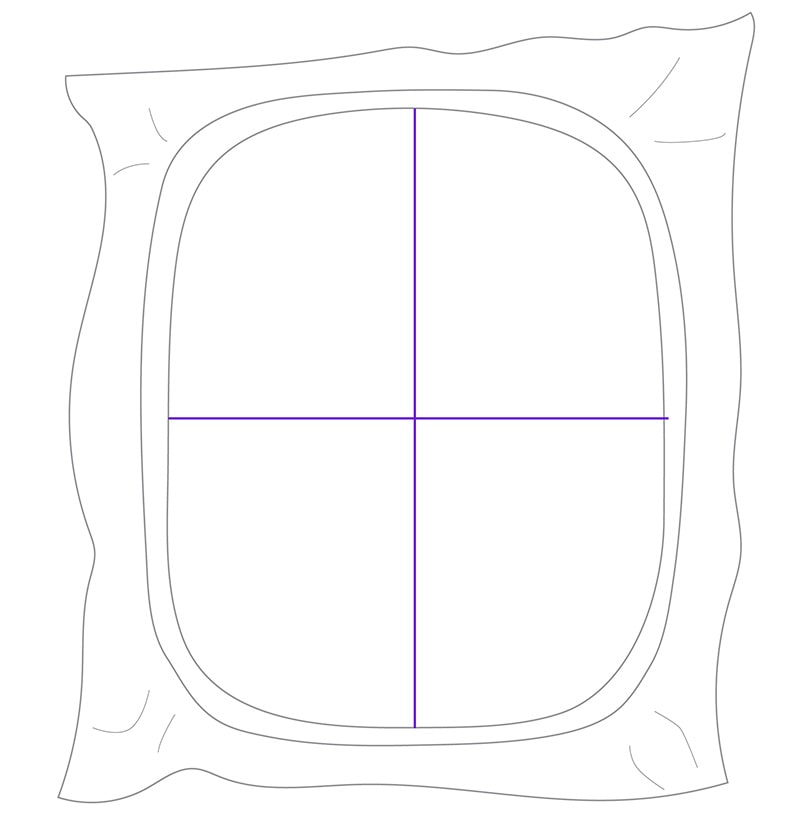 adhesive-backed stabilizer in hoop
