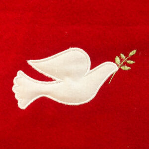 retro peace dove