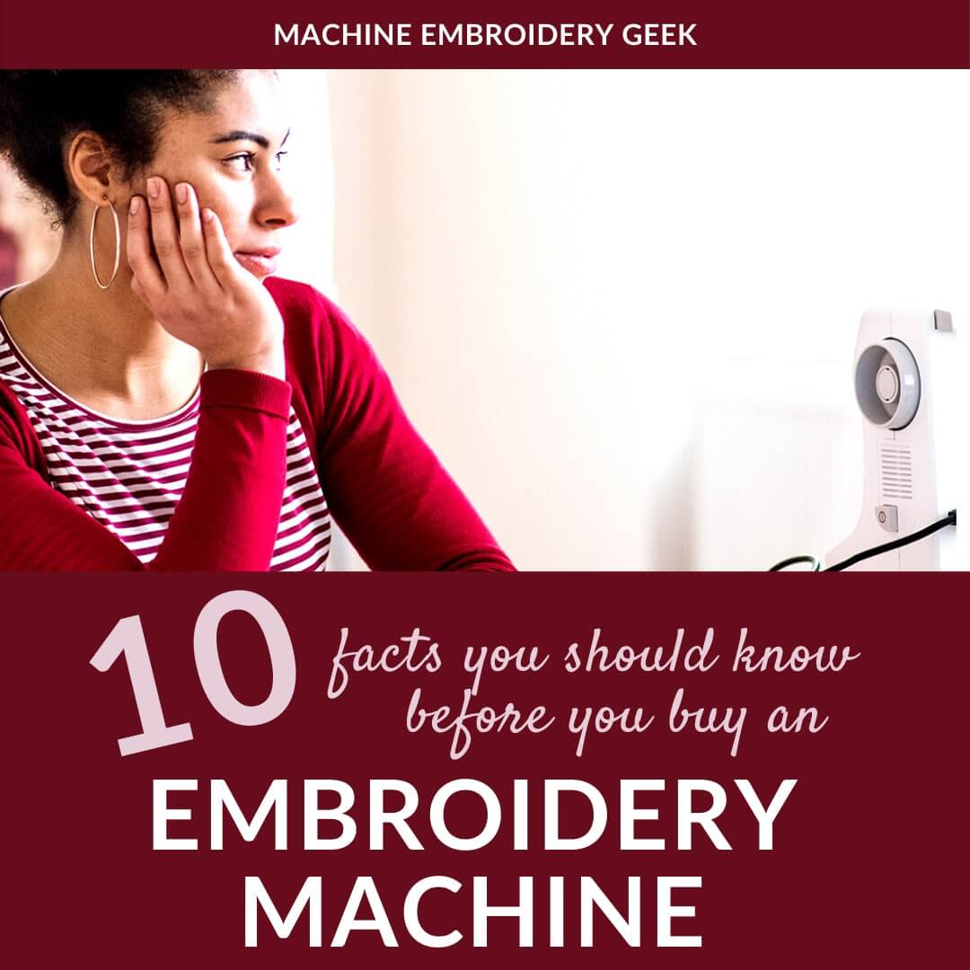 10 facts you should know before you buy an embroidery machine