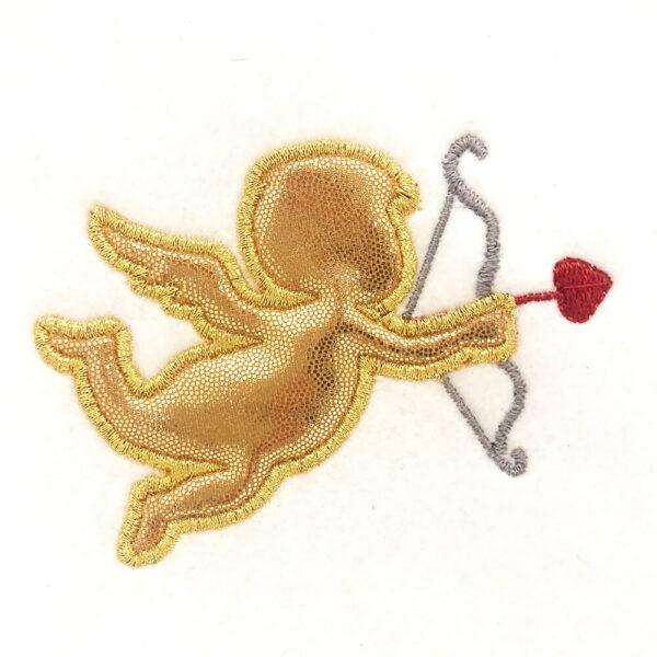 cupid appliqué design