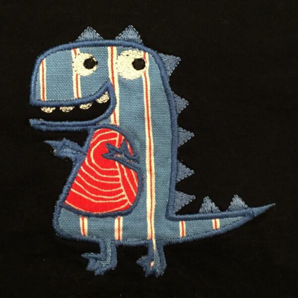dinosaur appliqué