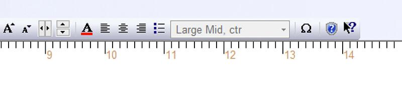 SewWrite modifier drop down