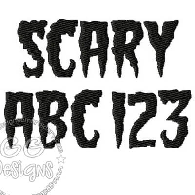 Scary font free