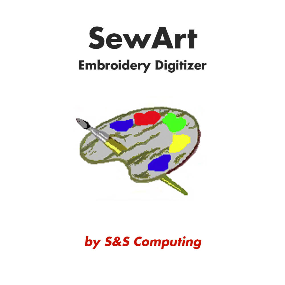 SewArt embroidery digitizing software