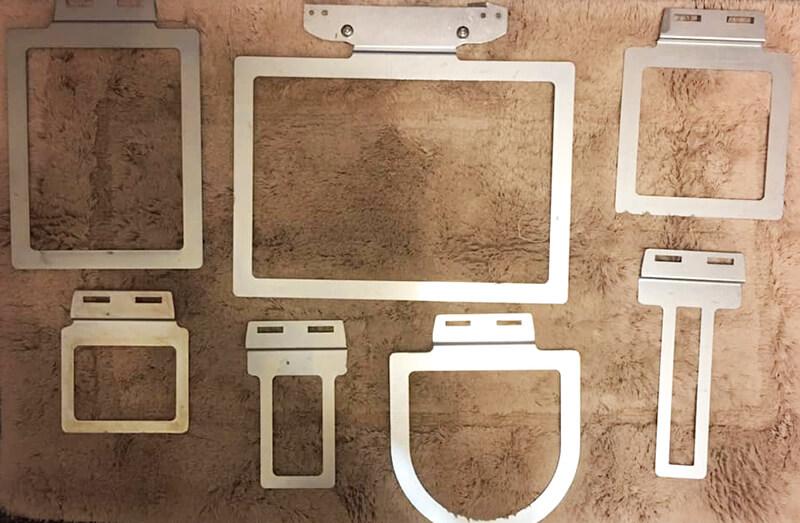 an assortment of fast frames