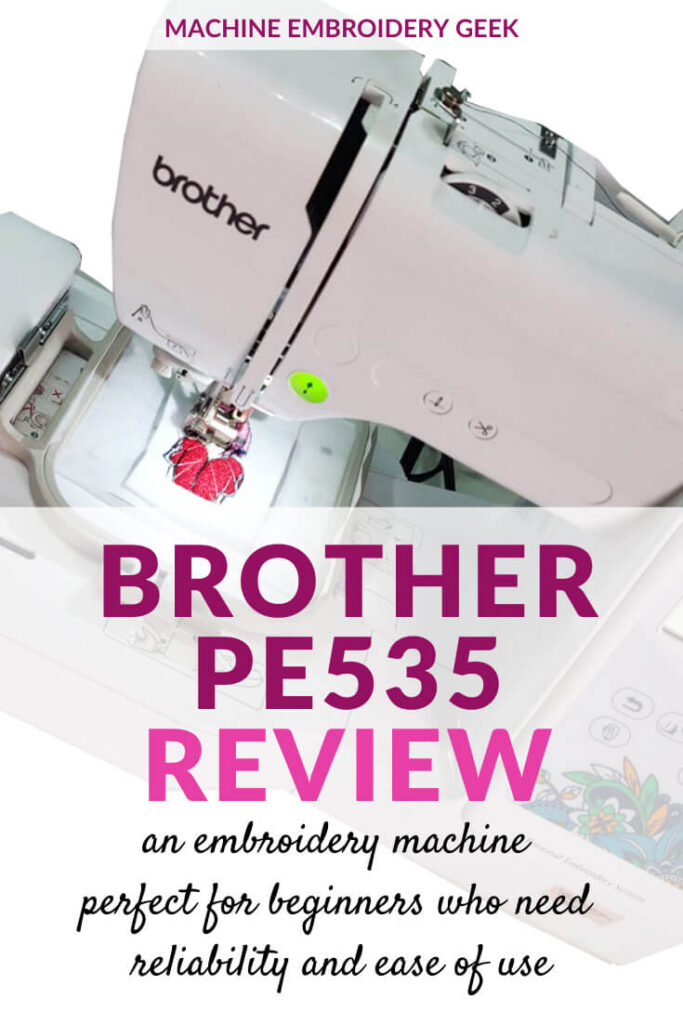 Brother PE535 Review