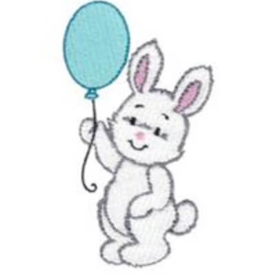 free bunny embroidery design set