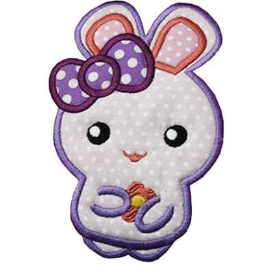 cute bunny appliqué