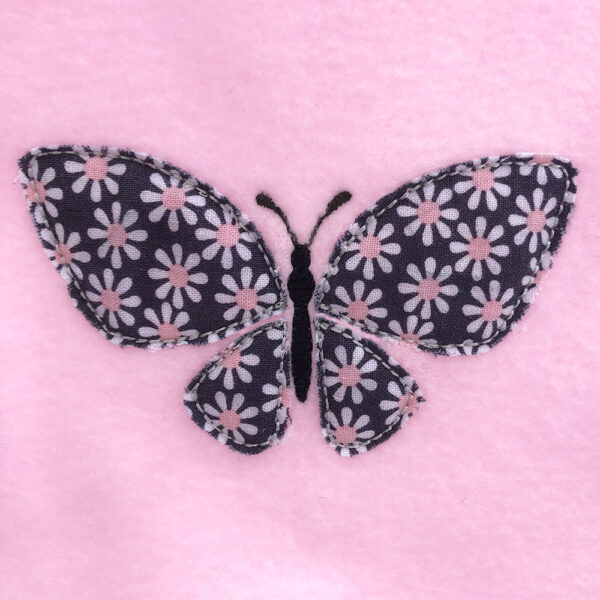 butterfly appliqué