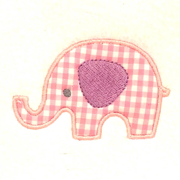 elephant appliqué design