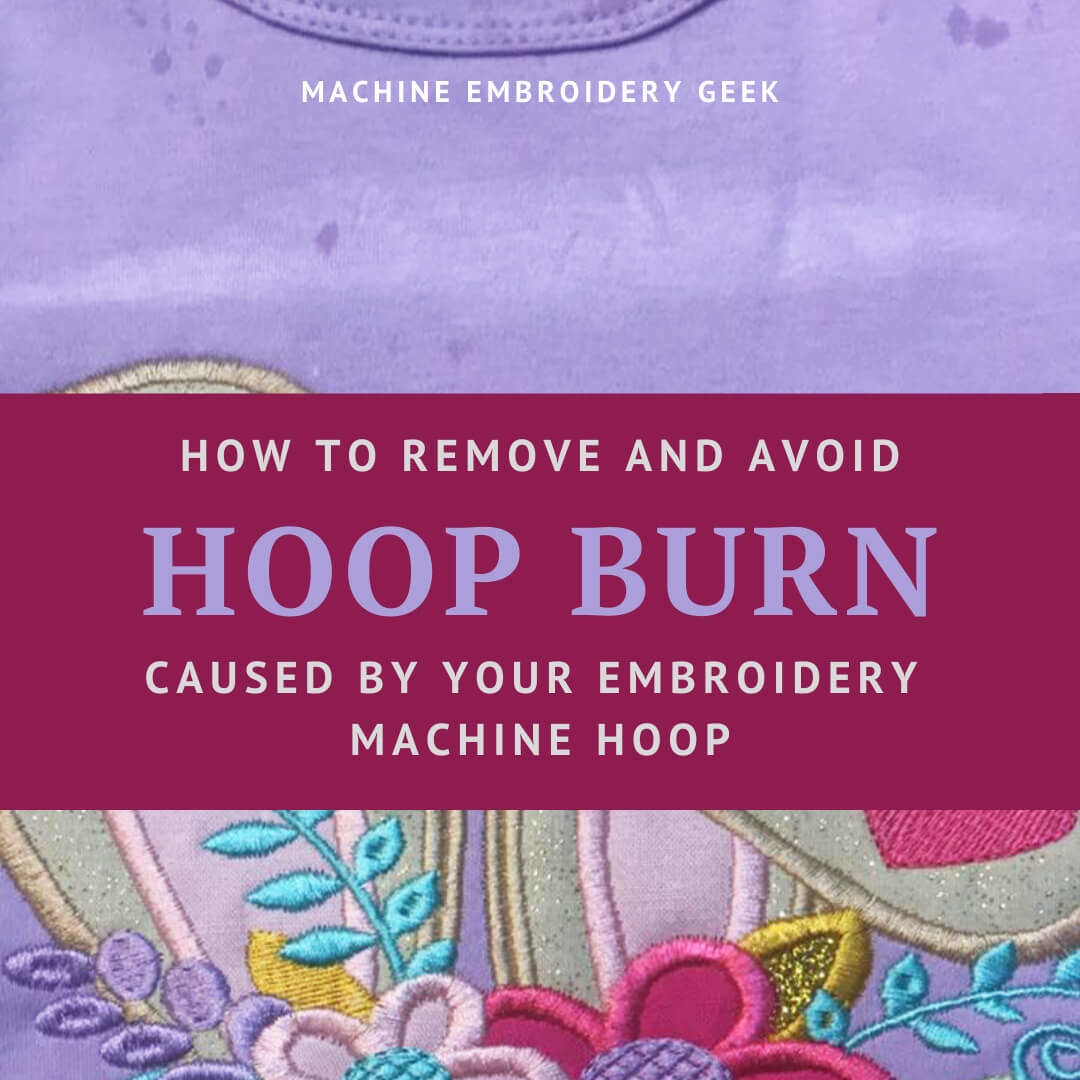 how to remove hoop burn