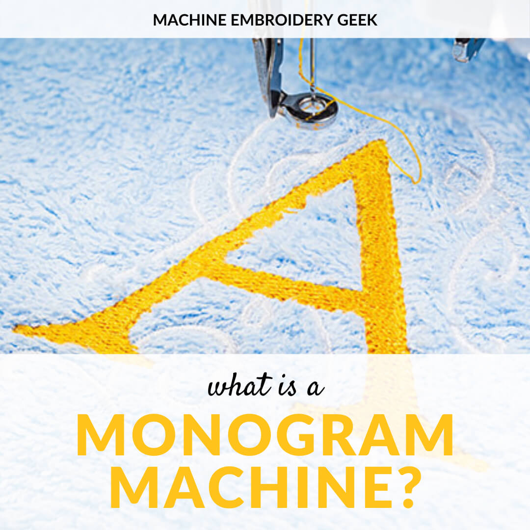what is a monogram machine?