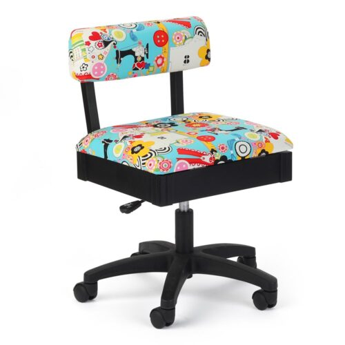 Arrow Chair for sewing and embroidery