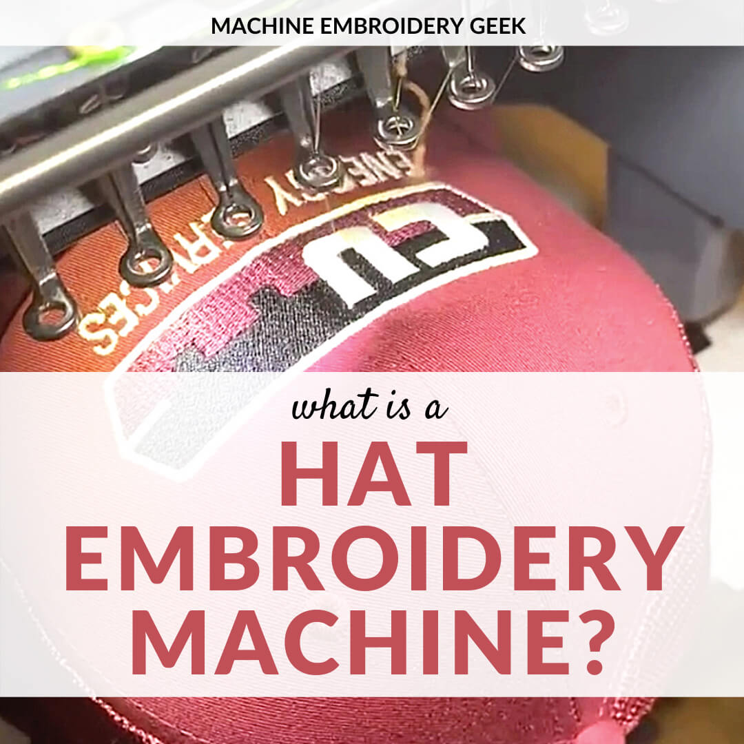 what is a hat embroidery machine