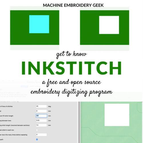 what is inkstitch