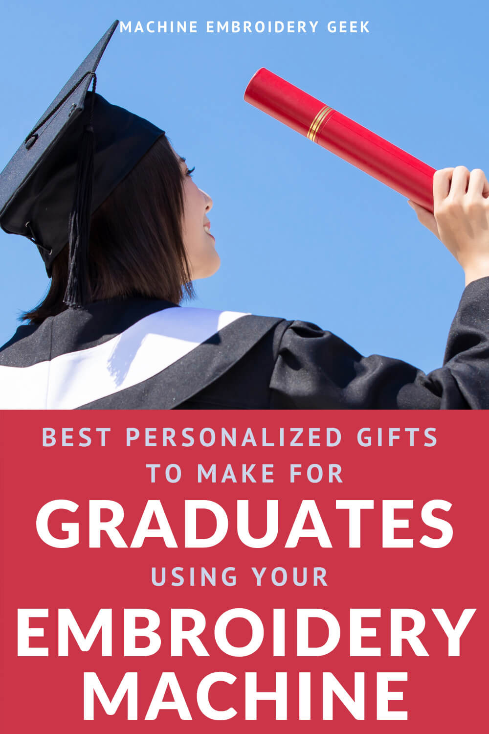graduation gifts to make on your embroidery machine