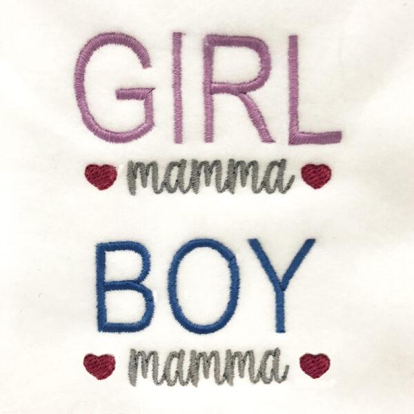 girl mamma boy mamma