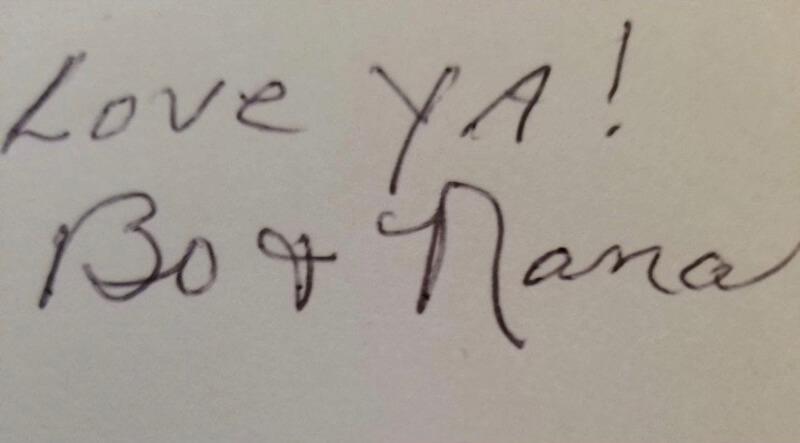 original handwriting image