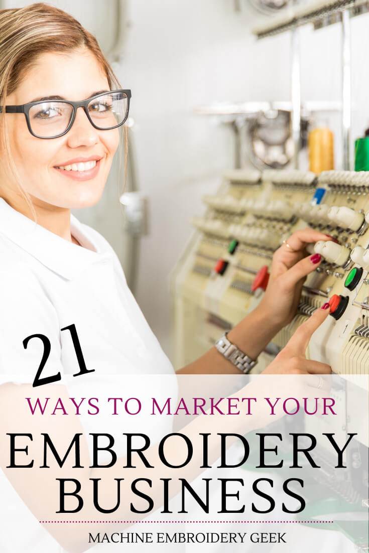how to market your embroidery business