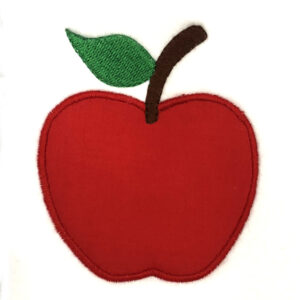 apple appliqué design