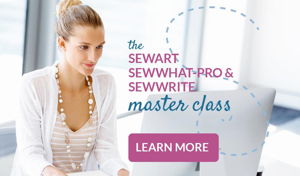 Sewart, SewWhat-Pro, SewWrite Master Course