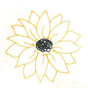 sunflower-sketch
