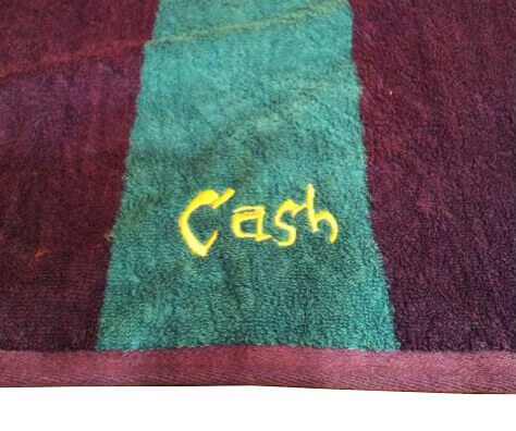 Personalized surf towels