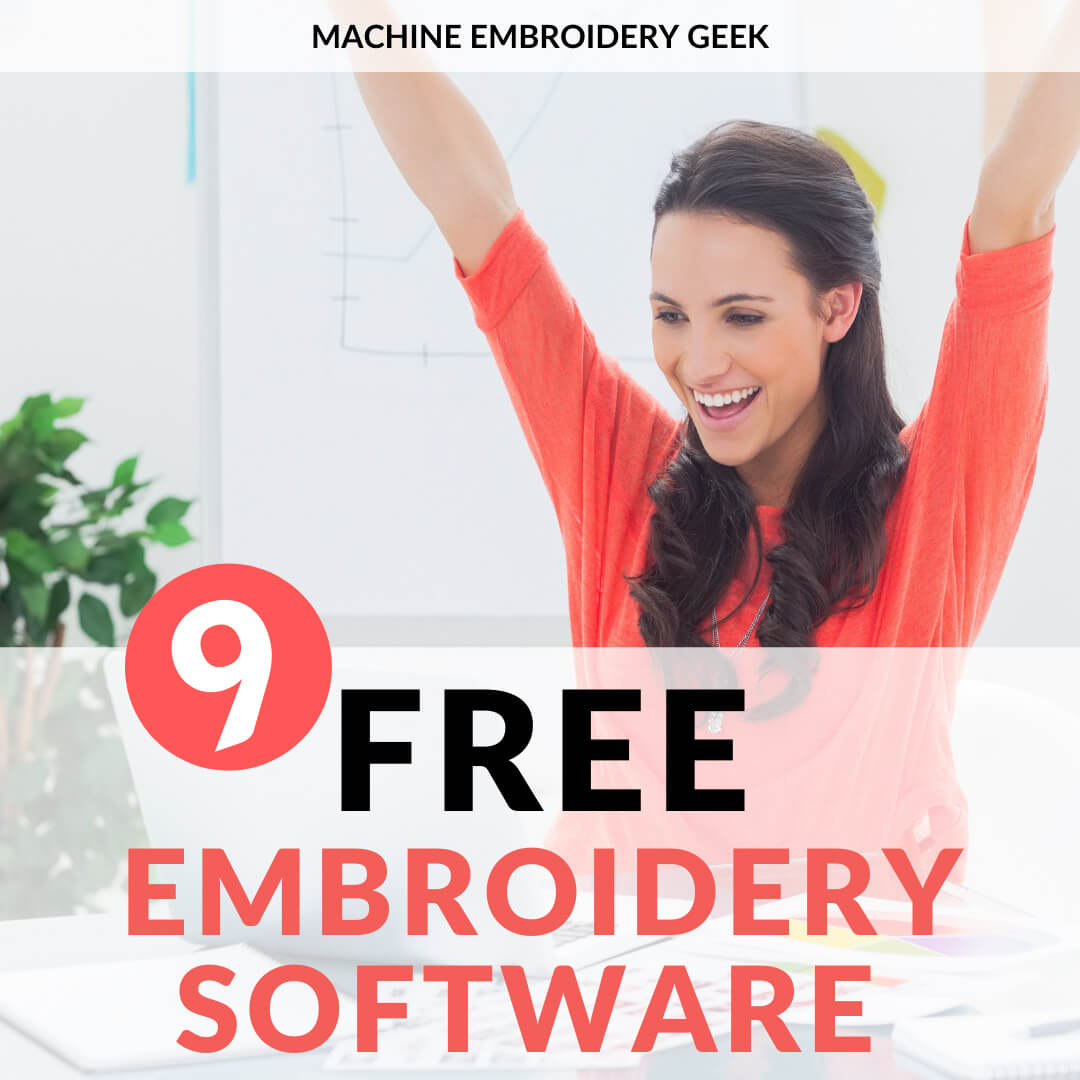 free embroidery software